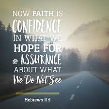 Image result for hebrews 11 1